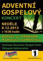 Adventní gospelový koncert v Hodkovicích